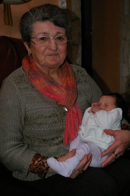 Avec Mamie Juliette